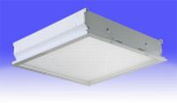 LED replacements for recessed T-bar fluorescent ceiling luminaires
